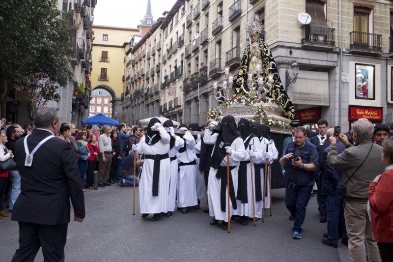 Resultado de imagen de HERMANDAD DE LOS SIETE DOLORES DE MADRID