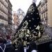 Procesión de la Virgen de los 7 dolores por el centro de Madrid.